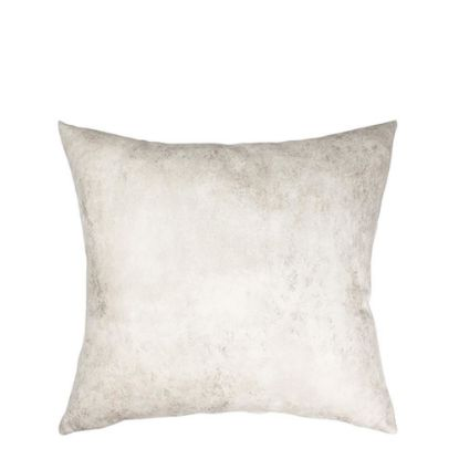 Picture of Pillow Cover (40x40cm) Leathaire White