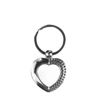 Εικόνα της KEY-RING - METAL (HEART)