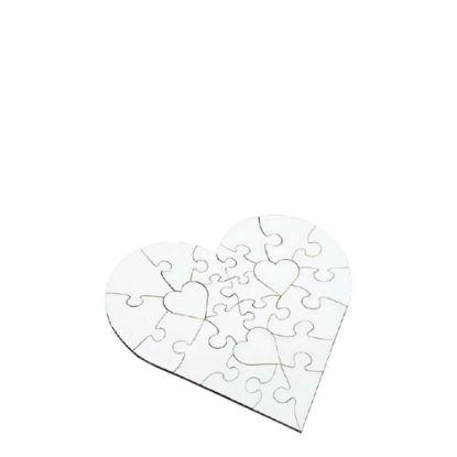 Picture of PUZZLE HB - HEART (17x17) 23pcs
