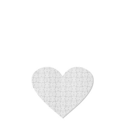 Εικόνα της PUZZLE FABRIC - HEART (17.5x19.9) 75pcs
