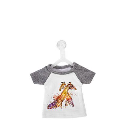 Εικόνα της Polyester T-Shirt (MINI Grey - Collar & Sleeve) with Hanger
