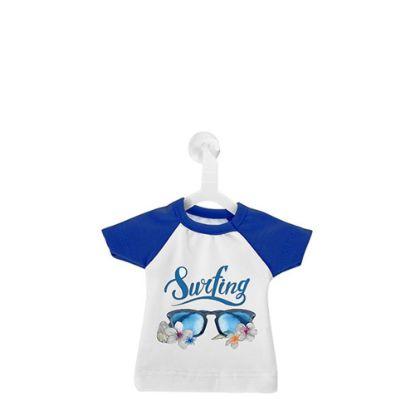 Εικόνα της Polyester T-Shirt (MINI Blue - Collar & Sleeve) with Hanger