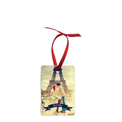 Picture of ORNAMENTS ALUMINUM - RECTANGLE portrate