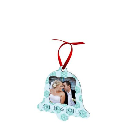 Picture of ORNAMENTS ALUMINUM - XMAS BELL