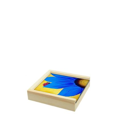 Picture of WOODEN BOX - 11x11x3.5cm