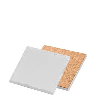 Picture of COASTER (SANDSTONE+cork) SQ. WILD 10.8 gloss