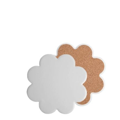 Picture of COASTER (SANDSTONE+cork) PLUM 10.8 gloss