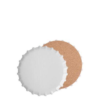 Picture of COASTER (SANDSTONE+cork) RO.BOTTLE 10.8 gloss