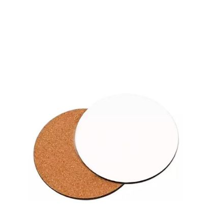 Picture of COASTER (HB) ROUND 10cm - with CORK