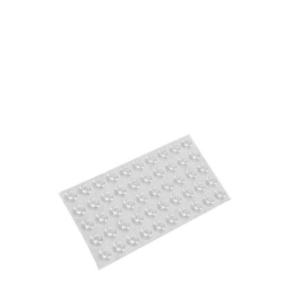 Picture of Adhesive Rubber Bumper (Clear) 50pcs