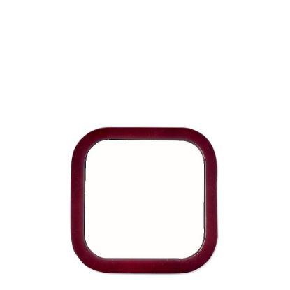 Picture of COASTER MAHOGANY- SQUARE CORK+INSERT- 10.79x10.79