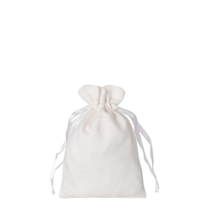 Picture of DRAWSTRING BAG double-sided plush 16x23cm