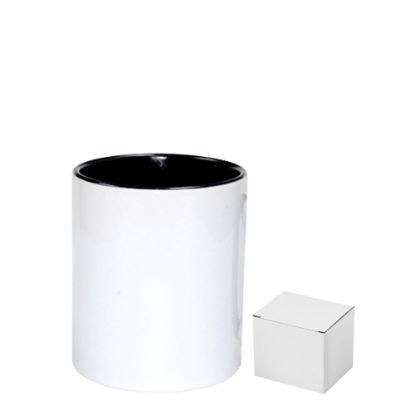 Picture of PENCIL HOLDER - CERAMIC/11oz-BLACK     (+box)