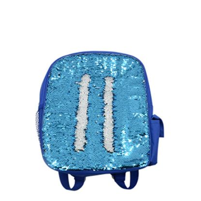 Picture of BACKBAG sequin (BLUE) 25.2x33.3