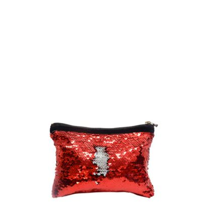 Picture of HANDBAG sequin (RED) 19.5x14.5