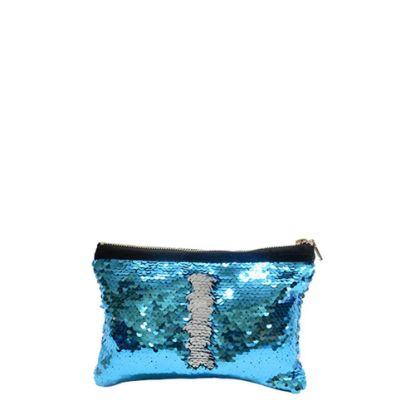 Picture of HANDBAG sequin (BLUE) 19.5x14.5