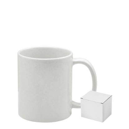 Picture of Mug White (Gloss) 11oz. Grade AA with Box