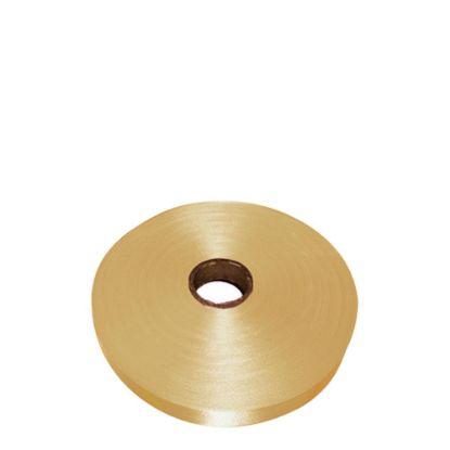 Εικόνα της RIBBON SATIN (1side) Gold Antique 25x100m
