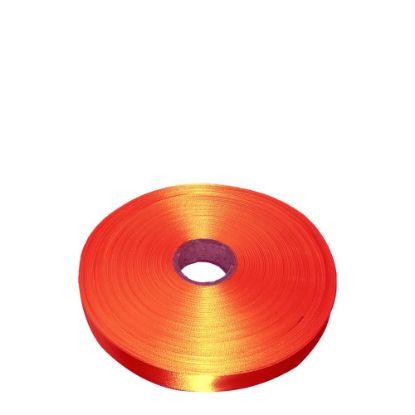 Εικόνα της RIBBON SATIN (1side) Orange Tango 25x100m