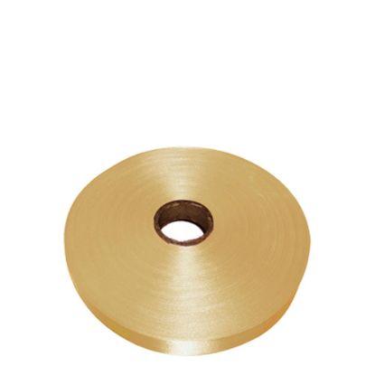 Εικόνα της RIBBON SATIN (1side) Gold Antique 38x100m