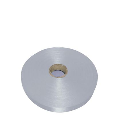 Εικόνα της RIBBON SATIN (1side) Silver Coin 38x100m