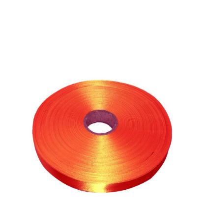 Εικόνα της RIBBON SATIN (1side) Orange Tango 38x100m