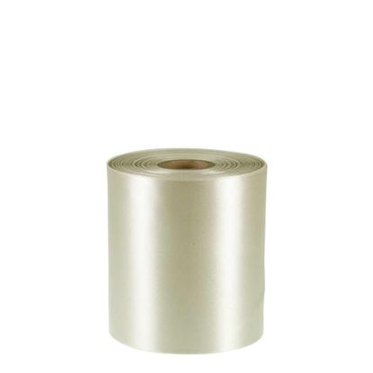 Picture of RIBBON POLYESTER (1side) Cream 100x50m