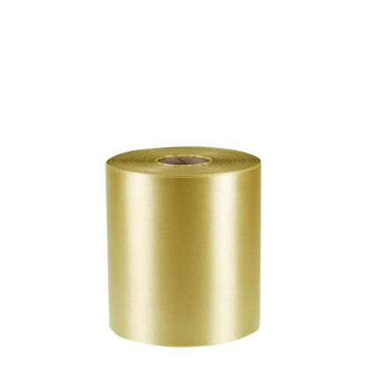 Picture of RIBBON POLYESTER (1side) Gold 100x50m