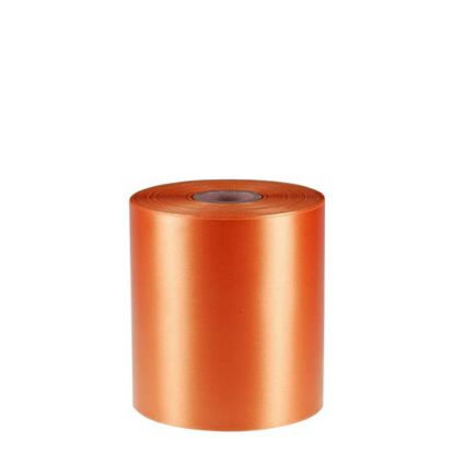 Picture of RIBBON POLYESTER (1side) Orange 100x50m