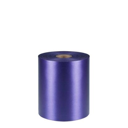 Picture of RIBBON POLYESTER (1side) Purple 100x50m