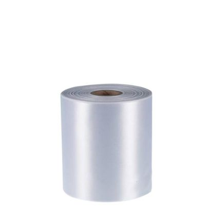 Picture of RIBBON POLYESTER (1side) White 100x50m