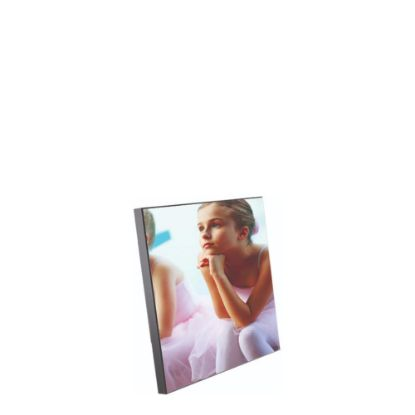 Picture of WOODEN PHOTO PA.- GLOSS WH.- 20.3x20.3