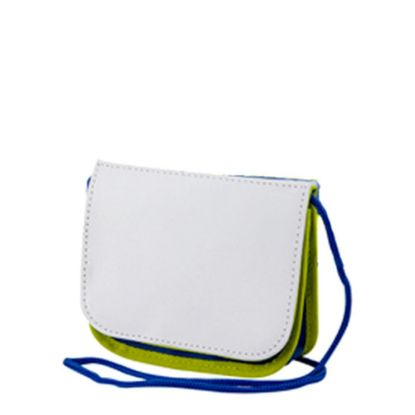 Picture of KIDS - NECK POUCH - Green & Blue