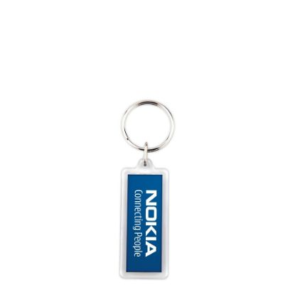 Picture of KEYRING ACRYLIC 2sided-18x50mm (pack 10)