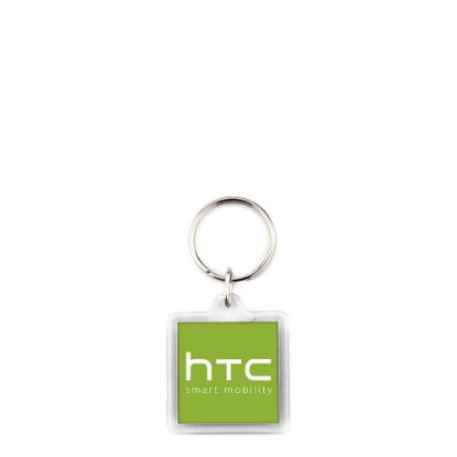 Picture of KEYRING ACRYLIC 2sided-32x32mm (pack 10)