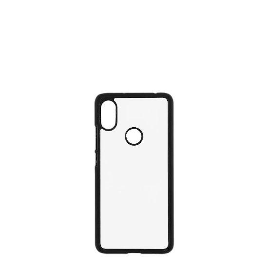 Εικόνα της XiaoMi case (Redmi S2) PC BLACK with Alum. Insert