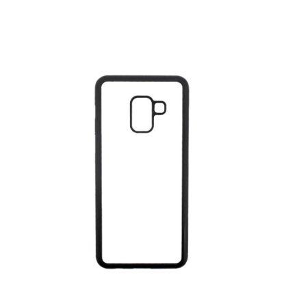Εικόνα της GALAXY case (A7 2018) TPU BLACK with Alum. Insert