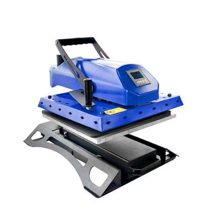 Εικόνα της Flat Heat Press 40x50cm (Swing manual) BLUE