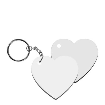 Picture of KEY-RING - HB (HEART) 2-sided