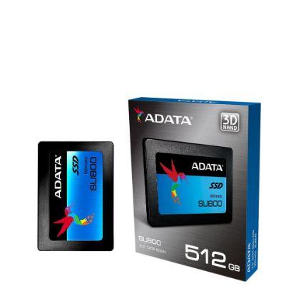 Picture of SSD ADATA (SU800) SATA III - 560/520 60k - 512GB