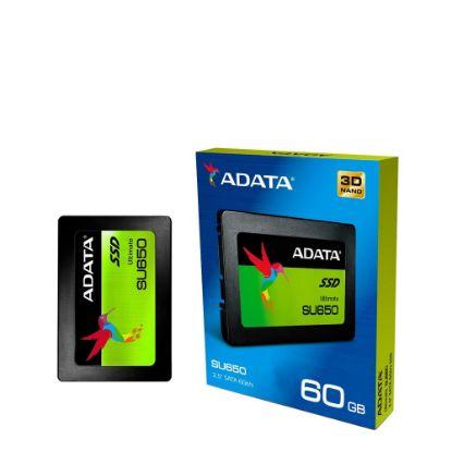 Picture of SSD ADATA (SU650) SATA III - 560/450 -  60GB