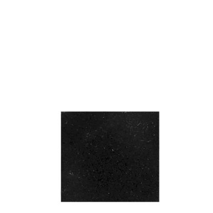 Picture of Adhesive Flannelette (Black) for Coasters - Square 9.3x9.3cm