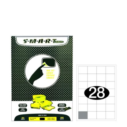 Picture of Smart Labels (40x40) 28 labels White/100sh