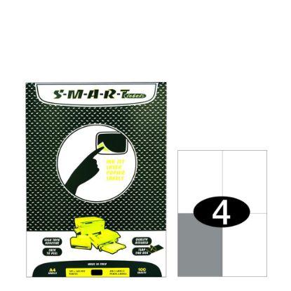 Εικόνα της Smart Labels (105x148) 4 labels White/100sh