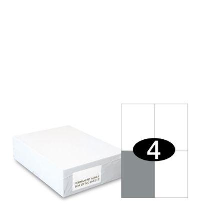 Εικόνα της Smart Labels (105x148) 4 labels White/500sh