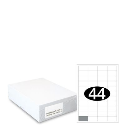 Picture of Smart Labels (48.5x25.4) 44 labels White/500sh
