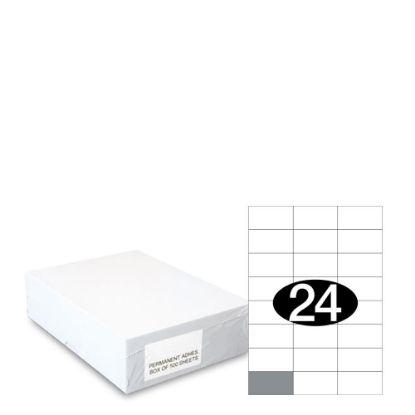Εικόνα της Smart Labels (70x37) 24 labels White/500sh