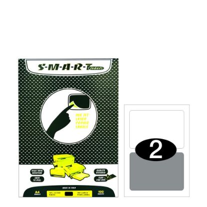 Picture of Smart Labels (185x112) 2 labels White/100sh