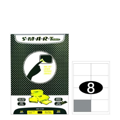 Picture of Smart Labels (97x67.7) 8 labels White/100sh