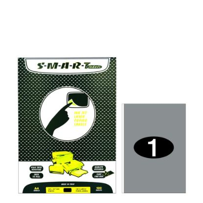 Εικόνα της Smart Labels (205x297) 1 label White/100sh